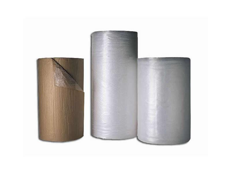 Plástico de Burbujas de aire sellado, el embalaje ideal dada su resistencia y ligereza.