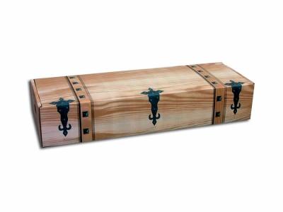 Caja JAMON RUSTICA GRANDE 860x290x160 mm